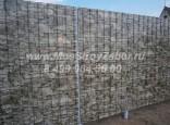 Забор из профлиста под камень в Наро-Фоминске цена 1430 руб за погонный метр