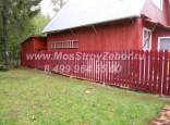 Забор из железного штакетника цена за погонный метр от 1180 рублей.