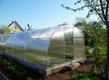 Теплица арочного типа из поликарбоната. Цена 19000 рублей. Размер 2,5х6м