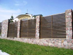 деревянный забор лесенка, елочка
