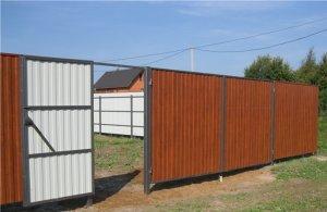 Только до конца недели забор из профнастила под дерево по цене обычного!