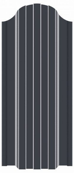 евроштакетник для забора ral 7024