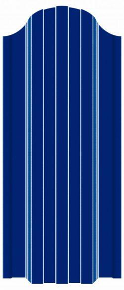 купить евроштакетник синий рал 5005