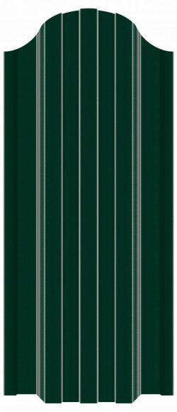 купить евроштакетник зеленый рал 6005